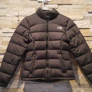 North Face Womens Black Nuptse Puffer Jacket XS